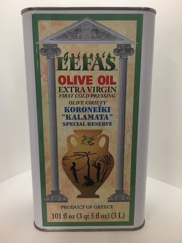 Lefas Extra Virgin Olive Oil 3 Liters
