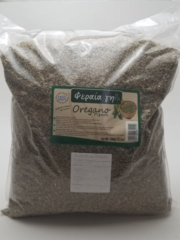 Greek Oregano 35.3oz Bag - Nick's International Foods