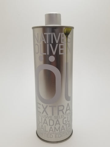 Iliada Exclusive Selection Extra Virgin Olive Oil 500 Milliliter Tin