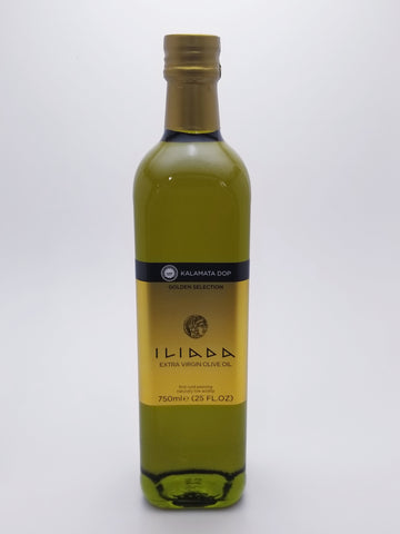 Iliada Olive Oil 750 Milliliter Glass Bottle