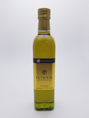 Iliada Olive Oil 500 Milliliter Glass Bottle