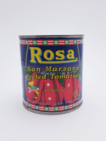 Rosa San Marzano Tomatoes 35oz - Nick's International Foods