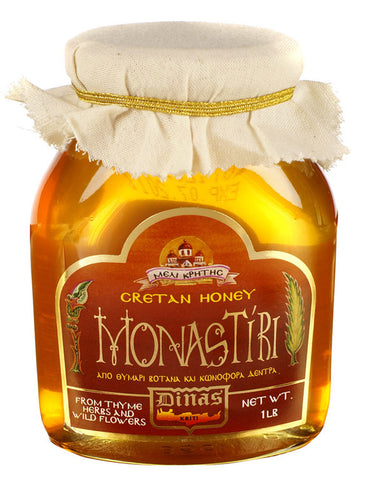 Monastiri Cretan Honey 1lb Jar