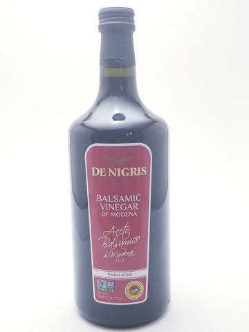 De Nigris Balsamic Vinegar of Modena 1L - Nick's International Foods
