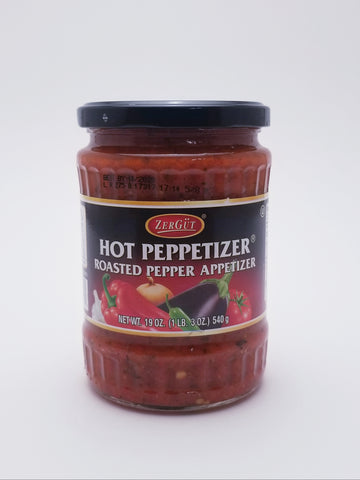 Zergut Peppetizer Roasted Pepper Appetizer 19oz - Nick's International Foods