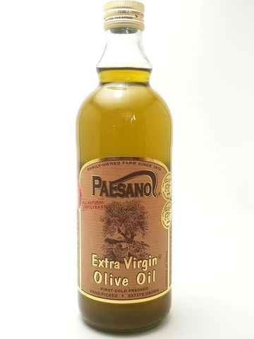 Paesanol Unfiltered Extra Virgin Olive Oil 1L - Nick's International Foods