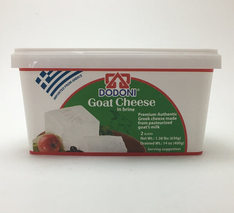 Dodoni Goat Feta Cheese in Brine 400g - Nick's International Foods