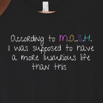 Funny M.A.S.H. Graphic Tee