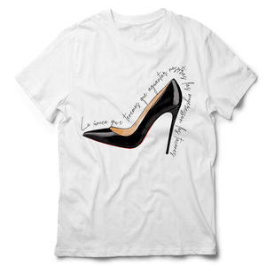 High Heel Shoes Tshirt - Grafitty