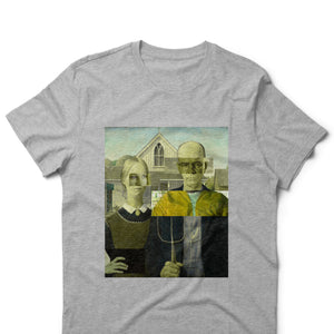Breaking American Gothic - Grafitty