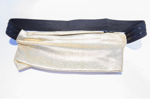 GOLD METALLIC LEG PURSE