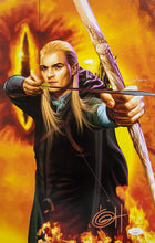 Lord Of The Rings Legolas 11x17 Lithograph Signed By Greg Horn JSA