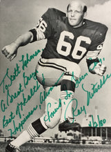 Ray Nitschke Signed 4x6 Green Bay Packers Photo PSA AD83838
