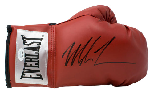 Mike Tyson Signed Red Everlast Right Hand Boxing Glove JSA
