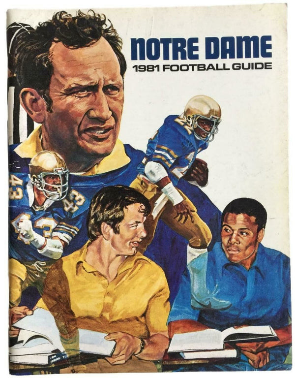 1981 Notre Dame Football Guide - Sports Integrity
