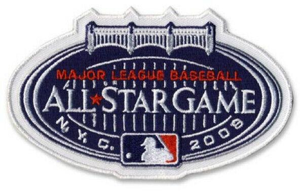 2008 All-Star Game Iron On Patch Yankee Stadium - Sports Integrity