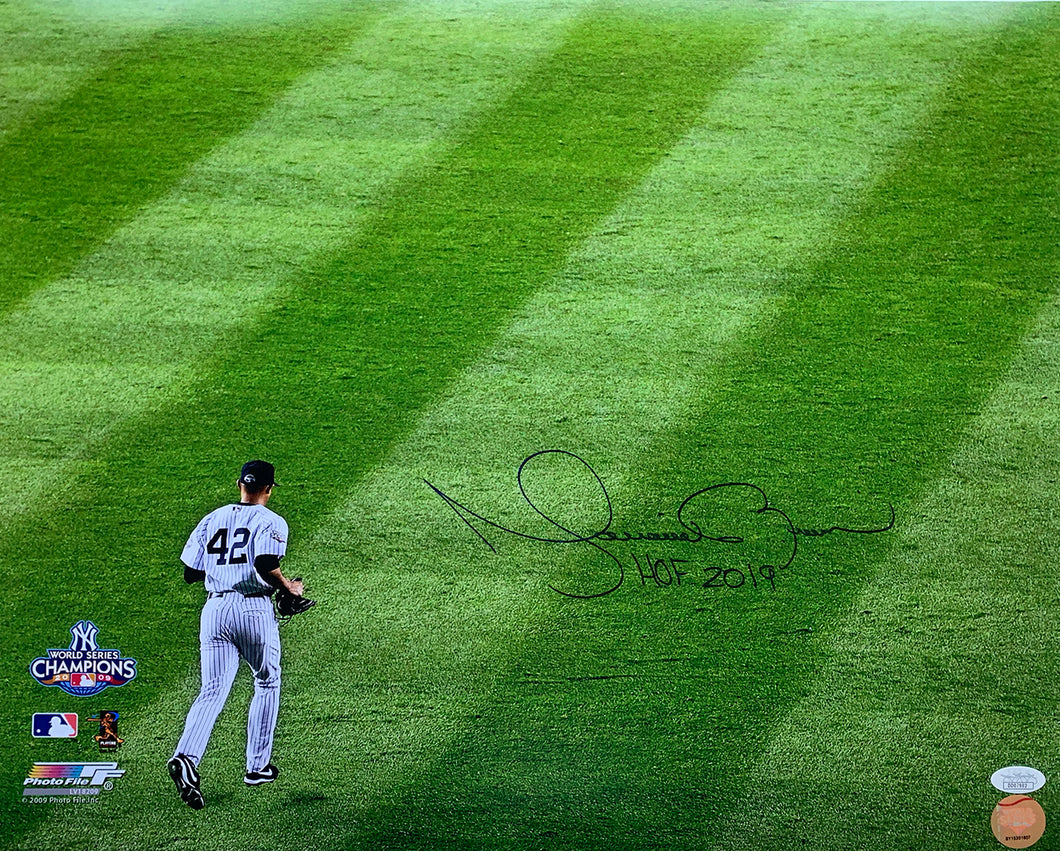 Mariano Rivera Signed Yankees 2009 World Series 16x20 Photo HOF 2019 Insc. JSA