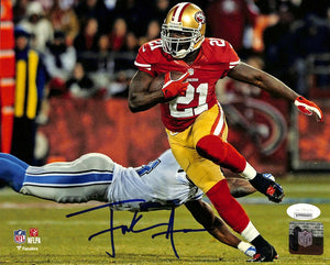 Frank Gore Signed San Francisco 49ers 8x10 Football Photo JSA ITP