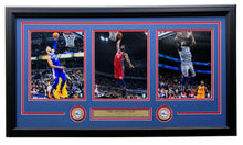 Ben Simmons Joel Embiid Jimmy Butler Framed 35x18 Sixers 76ers 8x10 Collage