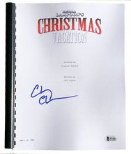 Chevy Chase Signed National Lampoons Christmas Vacation Movie Script BAS