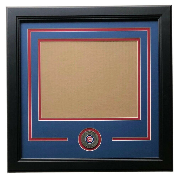 Chicago Cubs 8x10 Horizontal Photo Frame Kit