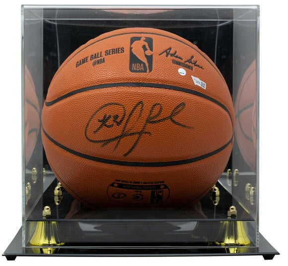 Chris Paul Phoenix Suns Signed Spalding Basketball w/Case Fanatics