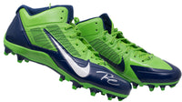 Russell Wilson Signed Seattle Seahawks Pair of Nike Flywire Cleats Wilson BAS