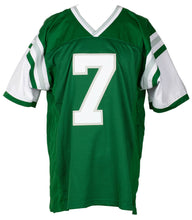 Ron Jaworski Signed Custom Green Pro Style Football Jersey JSA ITP