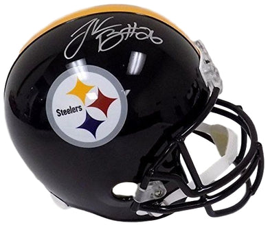 Le'Veon Bell Signed Pittsburgh Steelers Riddell Full Size Replica Helmet JSA ITP