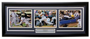 Derek Jeter NY Yankees Framed 18x34 Greats Moments Photos
