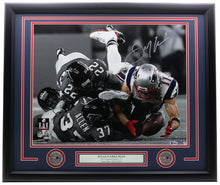 Julian Edelman Signed Framed New England Patriots 16x20 Photo BAS Holo
