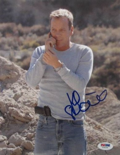 Kiefer Sutherland Signed/Autographed 8x10 24 Photo PSA T39558