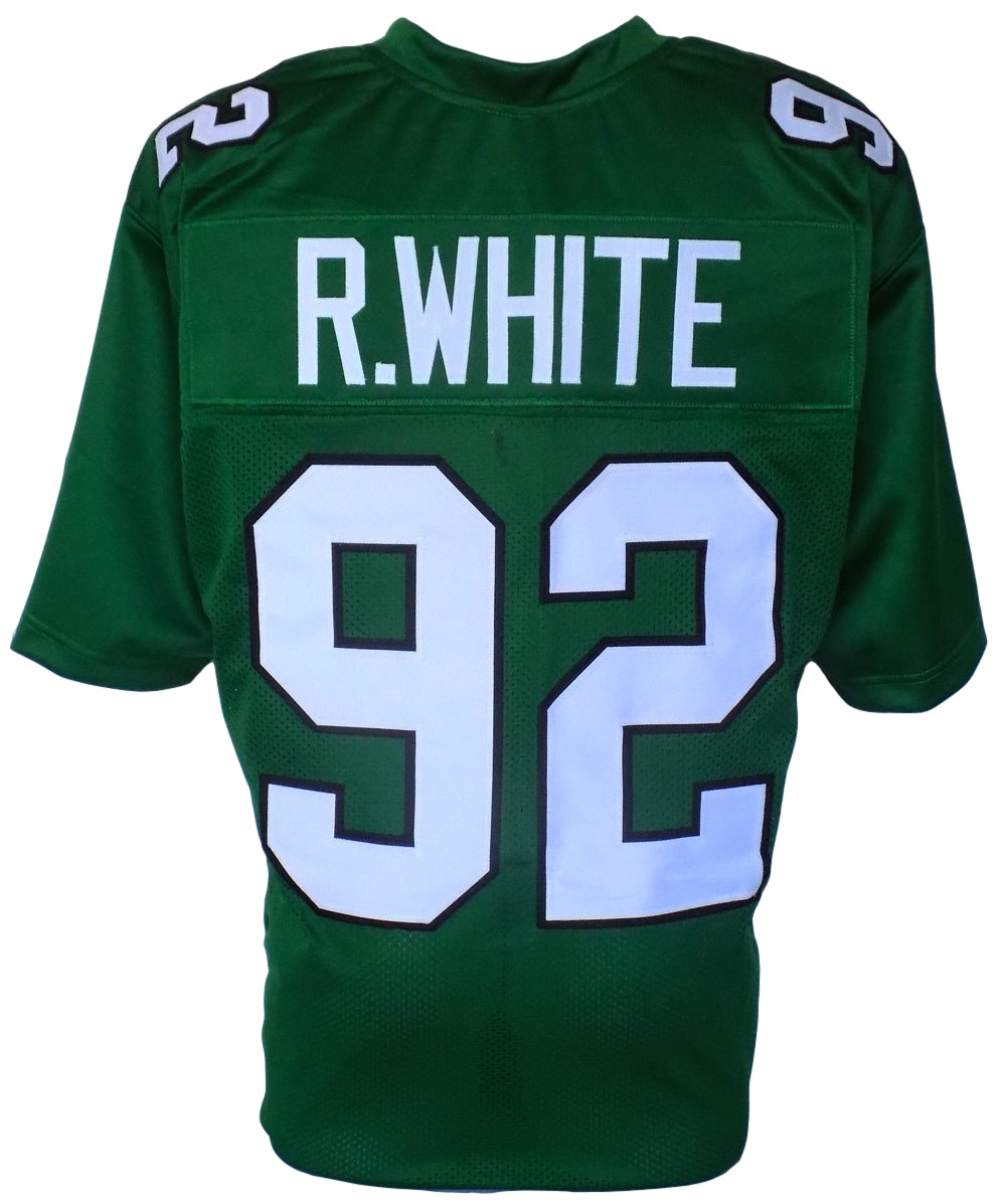 Reggie White Unsigned Custom Green Pro-Style Throwback Football Jersey Large