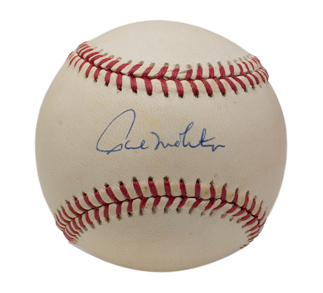 Paul Molitor Milwaukee Brewers Signed Official AL Baseball BAS H19688