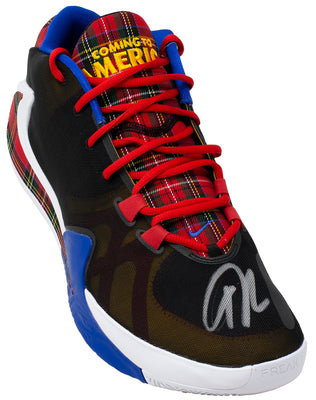 Giannis Antetokounmpo Signed Coming to America Left Zoom Freak 1 JSA