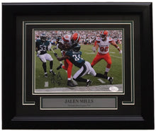Jalen Mills Signed Framed Philadelphia Eagles 8x10 Photo Vs Browns JSA ITP