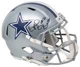 Ezekiel Elliott Signed Dallas Cowboys Full Size Speed Replica Helmet BAS