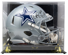 Ezekiel Elliot Signed Cowboys Full Size Speed Auth Helmet w/Case BAS