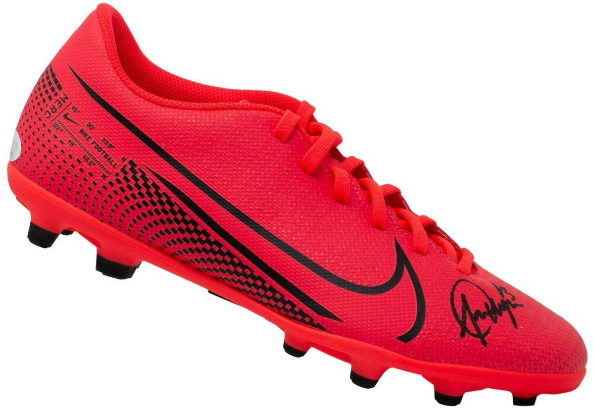 Alex Morgan Signed Right Vapor 13 Nike Soccer Cleat JSA ITP - Sports Integrity