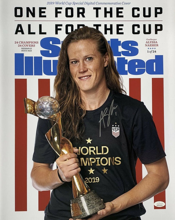 Alyssa Naeher Team USA Signed 16x20 Sports Illustrated Photo JSA - Sports Integrity