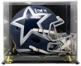 Amari Cooper Signed Full Size Amp Speed Replica Helmet w/Case JSA ITP - Sports Integrity
