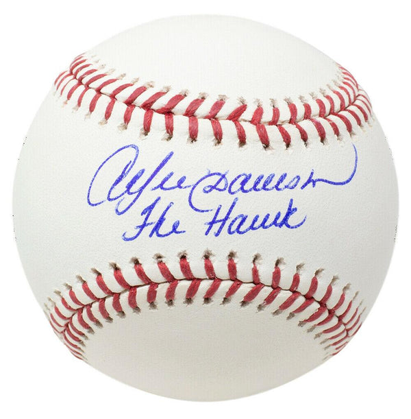 Andre Dawson Signed Chicago Cubs MLB Baseball The Hawk JSA ITP - Sports Integrity