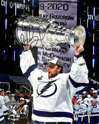 Andrei Vasilevskiy Signed 8x10 Tampa Bay Lightning Stanley Cup Photo Fanatics - Sports Integrity