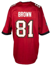 Antonio Brown Signed Tampa Bay Buccaneers Red Nike Football Jersey JSA ITP - Sports Integrity