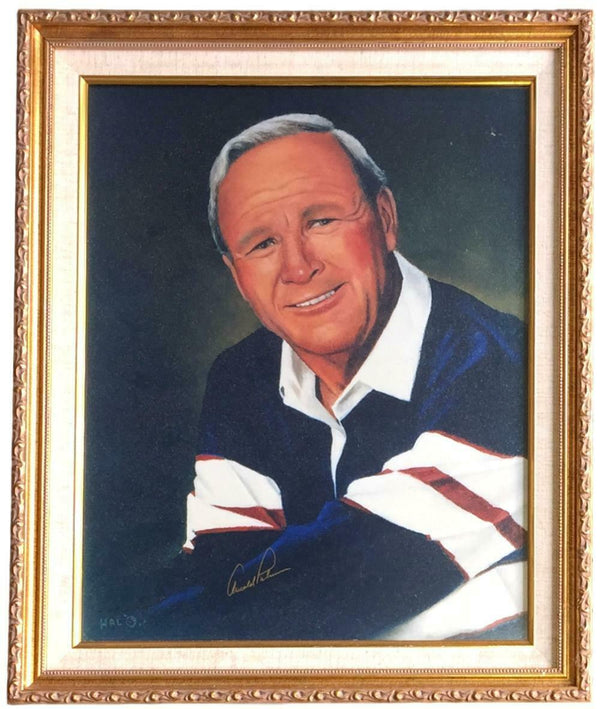 Arnold Palmer Signed Framed 16x20 Portrait Photo BAS A74535 - Sports Integrity