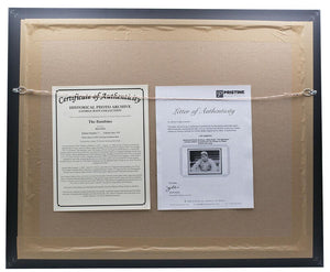 Babe Ruth Framed Historical Archive 17x22 Limited Edition Giclee - Sports Integrity