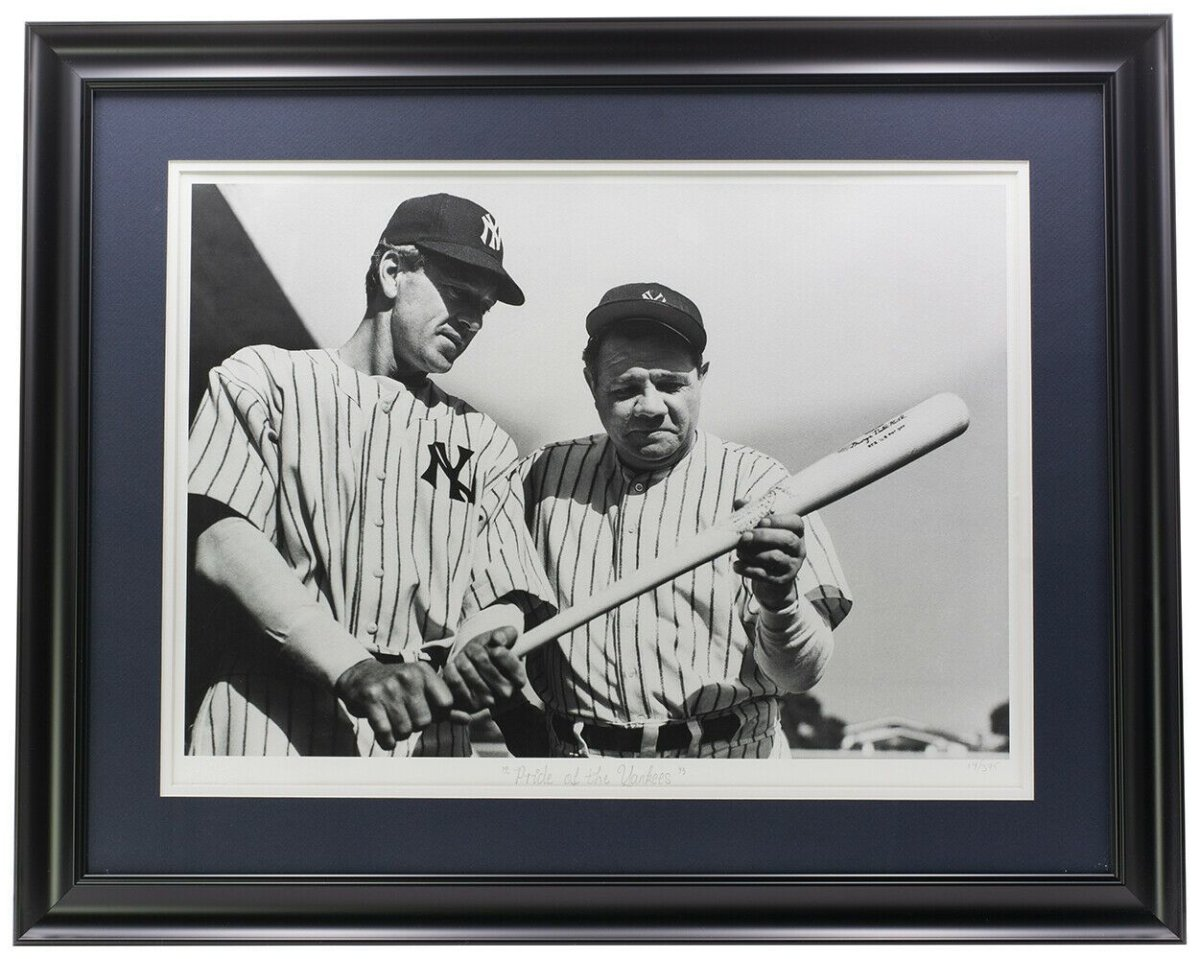 Babe Ruth Framed Pride of the Yankees Archive Photo - Sports Integrity