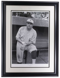 Babe Ruth The Babe Framed 16.5x22 Historical Photo Archive LE Giclee - Sports Integrity