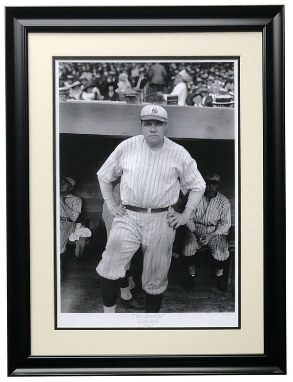 Babe Ruth The Bambino Framed 16x22 Yankees Historical Photo Archive - Sports Integrity