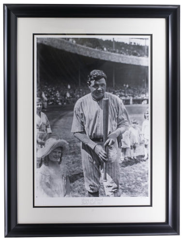 Babe Ruth Young at Heart Framed 17x22 Historical Photo Archive Giclee - Sports Integrity